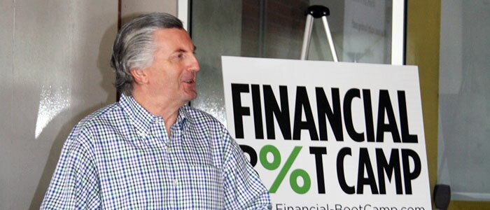 Charles Green at Financial Boot Camp.
