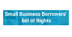 "SBFI Endorses ""Small Business Borrowers' Bill of Rights"""